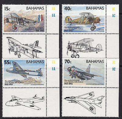 Bahamas 1993 Royal Air Force Set, Unmounted Mint, Cat £8.50
