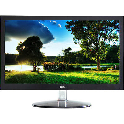 New Upstar 20in M200A1 HD LED Backlit LCD 16:9 Widescreen Monitor VGA only