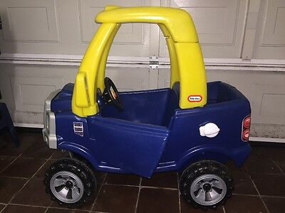 Little Tikes Blue Cozy Coupe Car Truck 4x4 Jeep