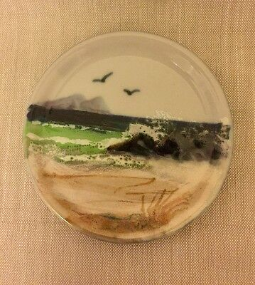 Highland Stoneware Seascape Small Round Plate