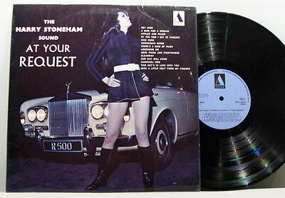 HARRY STONEHAM - at your request LP HEAR! library ORGAN MOD JAZZ private TEPEE