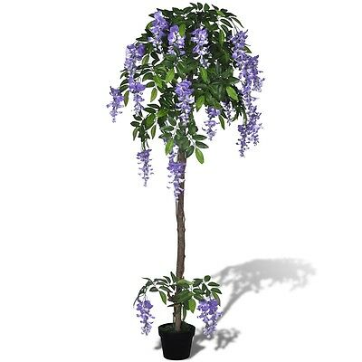 #s Artificial Wisteria with Pot 160 cm Fake Plant Arrangement Home Decor Office