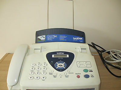 Brother FAX Machine, Telephone and Copier T94