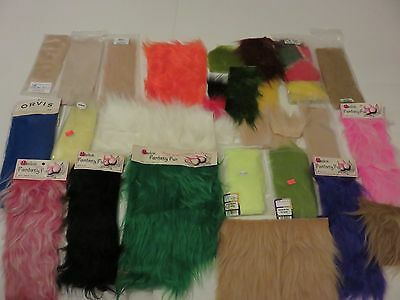 Fly Tying Materials - Fly Fur & Synthetic Hair