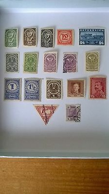 Collection Of Vintage Stamps From Austria & Bosnia.