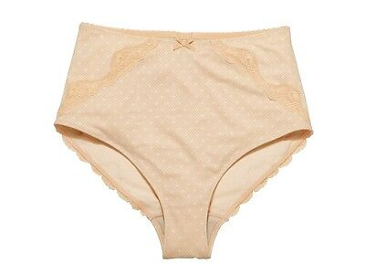 Ladies Tummy Control Panty Girdle Shaping Briefs Shapewear size 26-28 Nude #230