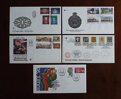 South African first day covers 5