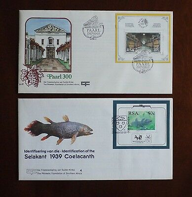 South African first day covers 2