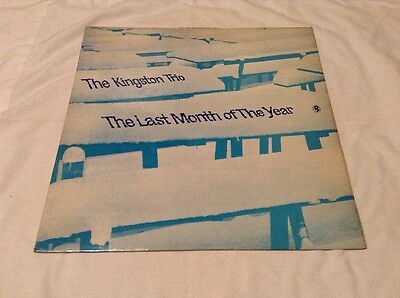 Kingston Trio-Last Month Of The Year LP.World Record T564.White Snows Of Winter+