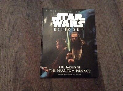 Star Wars Episode 1 The Making Of The Phantom Menace Book