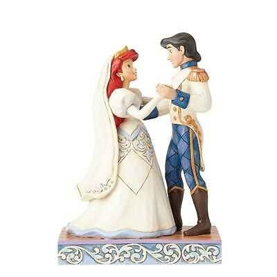 Disney Traditions Figurine - Ariel and Prince Eric (Wedding Bliss) - 4056749