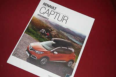Renault Captur Accessories Brochure - Rare - French
