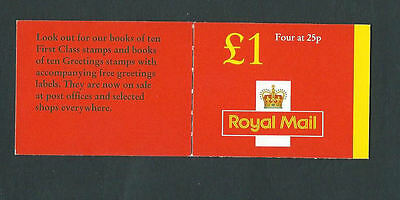 1996 £1 Red Cover Series Booklet