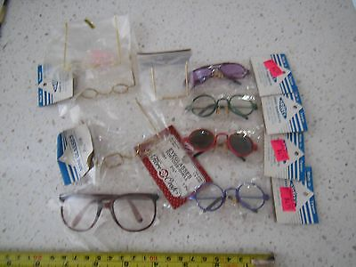 Assorted Glasses for Bears or Dolls