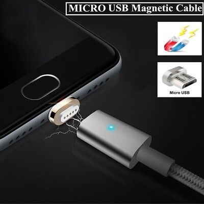 Fast Micro USB Data Cable Charger 1M Magnetic Wire For SAMSUNG GALAXY S6 S7 Edge