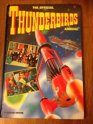 The Official Thunderbirds Annual 1993 Gerry Anderson