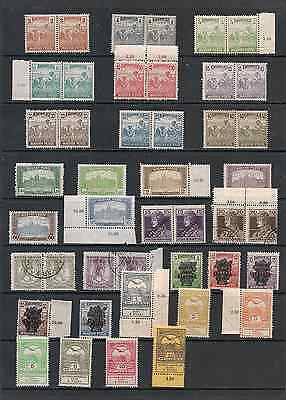 Stamp Collection Hungary 1918-1919.mint.two Scans.