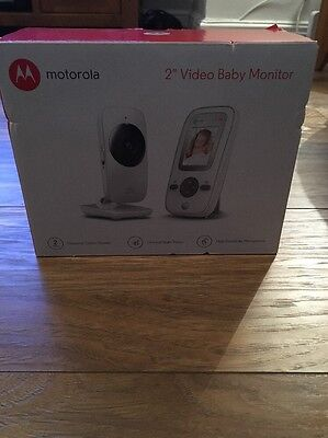 Motorola MBP481 Video Baby Monitor with 2 Inch Display NEW!
