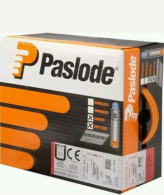 Paslode IM360Ci 3.1 x 90mm Ring Nail Fuel Pack