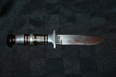 Rare Original WWII Camilus NY US Navy Dagger Silver Grip Military  Knife