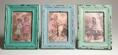 Set of 3 Sass  Belle Vintage Shabby Chic Delilah Photo Frame