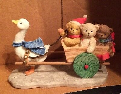 Cherished Teddies Carter & Friends-Take Time For Others .. 706817 No Box