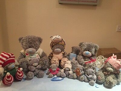Me To You Bear Teddy Collection x 11 Limited Edition