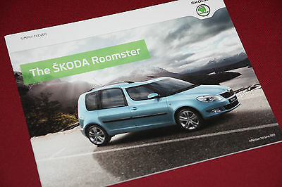 Skoda Roomster Brochure 2011 - Mint Condition