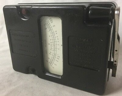 Megger Insulation and Continuity tester, Series 3 mark III 1960's vintage