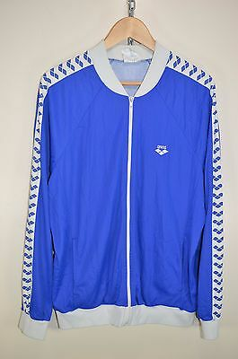 vtg 70s ARENA RARE OLDSCHOOL RETRO TRACK JACKET TRACKSUIT TOP CASUALS size D8 XL