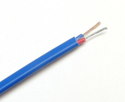 T-type Thermocouple Wire AWG 24 Stranded Wire w. PVC Insulation Extension 1 yard