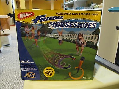 Frisbee Horseshoes Game Wham-O Outdoor Back Yard Park Fun Toy