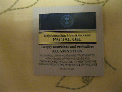 Neal's Yard Remedies Frankincense Facial Oil Sachets 0.5ml x20 BBE07/18