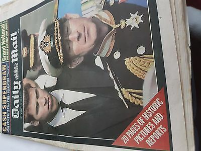 Newspaper Daily Mail April 6 th 2002