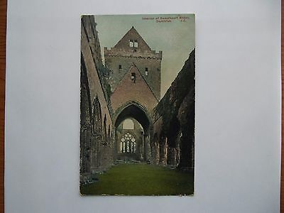 Sweetheart Abbey, Dumfriesshire  - Interior Of Sweetheart Abbey, Dumfries 1906