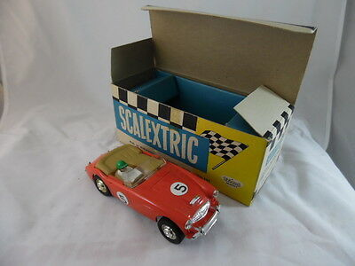 Scalextric C74 Austin Healey 3000 in Red. Mint Boxed