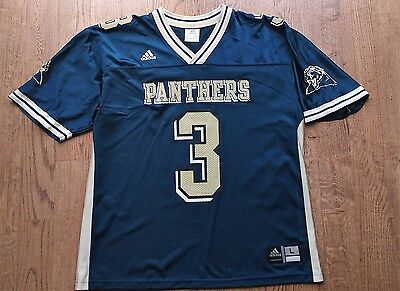 NCAA Pittsburgh Panthers #3 vintage football jersey by Adidas Size L