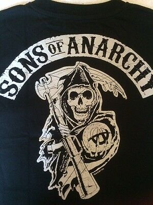 Bbc - Sons Of Anarchy - Promotional Tee Shirts - Skull Design - Small/medium
