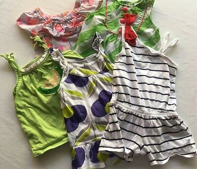 Nice Lot Of Girls Warm Weather Size 3T Clothes 5 Items