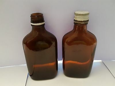 Medicine Bottles Vintage One with a top