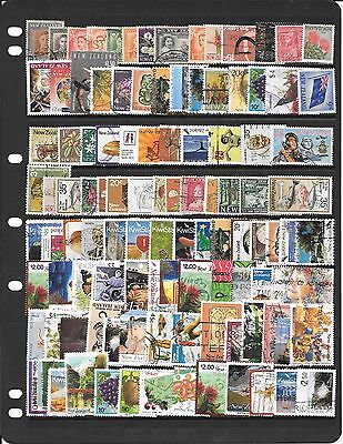 New Zealand Collection Of Used Stamps Bb009