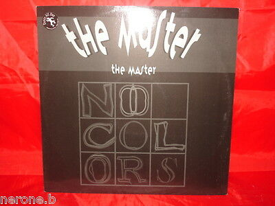 """Disco 45 Giri 12"""" The Master The Master No Colors 1996Made In Italy #w30"""