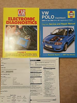 4150 Haynes VW Polo 2000 V to 51 Service Workshop Manual + Electric diag + more!