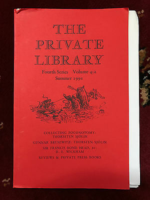The Private Library 4th Series Vol.4:2 1991