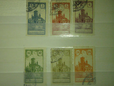 Stamps old Poland  DIFFERENT USED №2