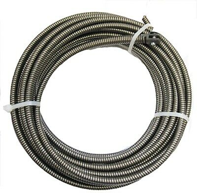 Plumbers 100 Ft Drain Auger Music Wire Replacement Cable Cleaner Cobra Snake NEW