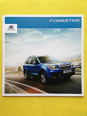 Subaru Forester official paper marketing brochure 2013 MINT condition 4x4
