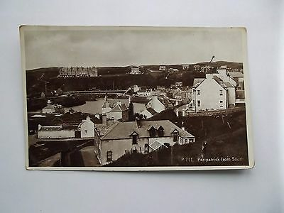 Portpatrick, Wigtownshire - Portpatrick From The South  1941
