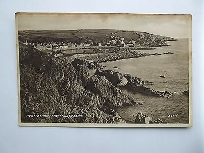 Portpatrick, Wigtownshire - Portpatrick From North Cliff