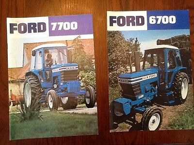 Ford tractor leaflet brochure
